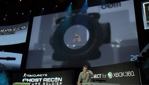 Kinect coming to Ghost Recon and every Tom Clancy game