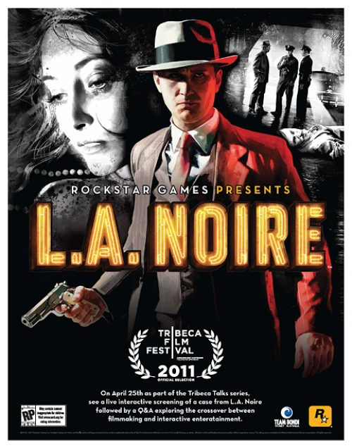 L.A. Noire selected for 2011 Tribeca Film Festival