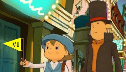 Professor Layton becomes the face of Japan's 3DS launch…