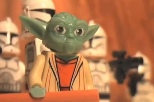 Yoda and Company get the Stop Motion Treatment…