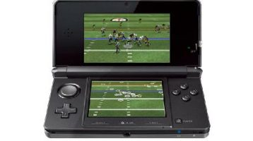 Madden NFL Football Announced as a Launch title for the 3DS…