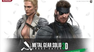 Metal Gear Solid: Snake Eater 3D gets an english trailer