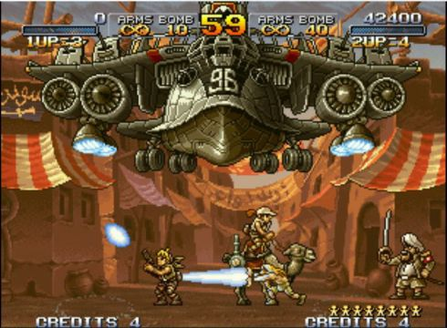 metal slug 2 online play