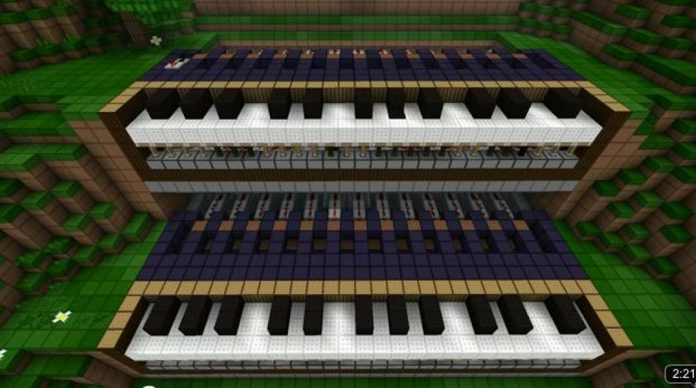 Minecraft Update and Piano – Capsule Computers