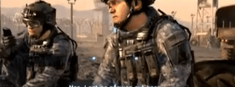 Modern Warfare 3 Announcement Parody