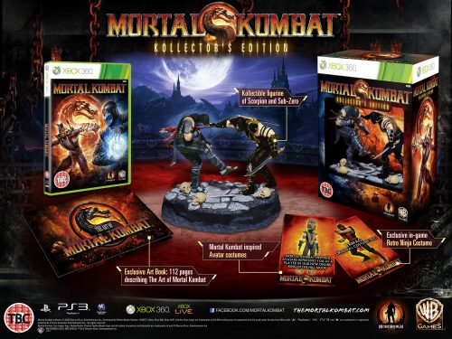 UK Mortal Kombat Kollector's Edition available for pre-order