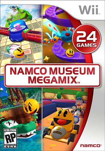 Namco Museum Ds. Namco Museum Megamix goes Pac