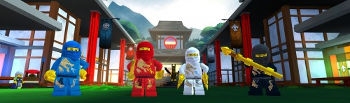 Ninjago for Lego Universe launches