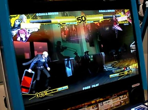 Persona fighting game caught on video at TGS 2011