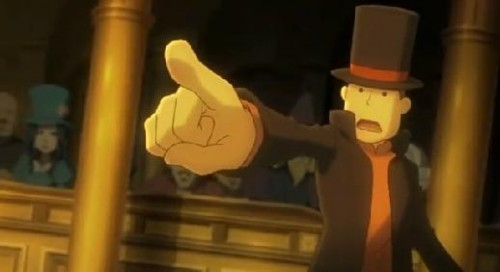 New Trailer for Professor Layton vs Phoenix Wright Arises…