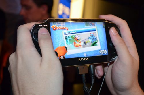 PS Vita gameplay and hands-on at E3 and interview with Paul Lovell from Big Big Studios
