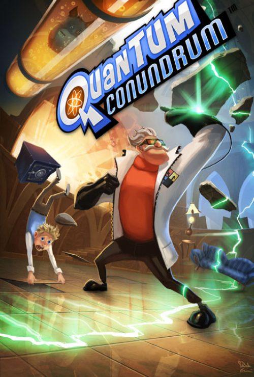 PAX 2011 – Quantum Conundrum on show.