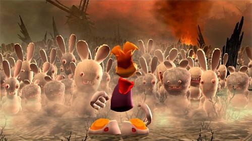 Raving Rabbids and Rayman Origins Gamescom Trailers