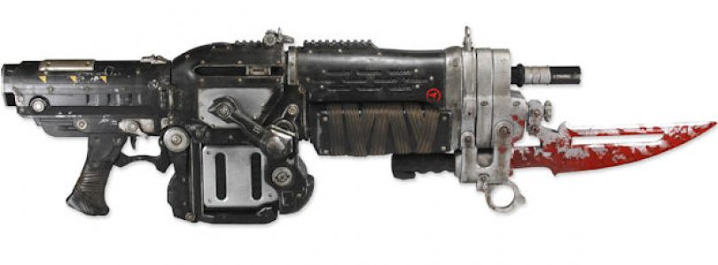 Gears of War 3 Lancer replic….. *drool*