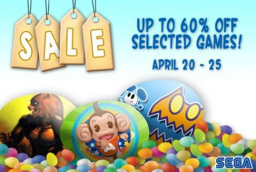 Sega Slashing Prices for Easter with iOS Sale…