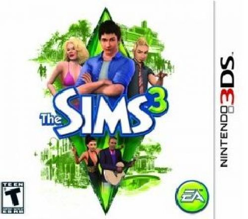 The Sims 3 Launches for the 3DS in Australia…