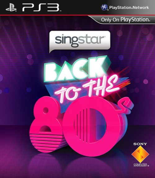 SingStar Back To The '80s Full Track List Revealed