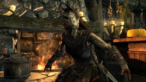 Skyrim's Argonian race given their first screenshot