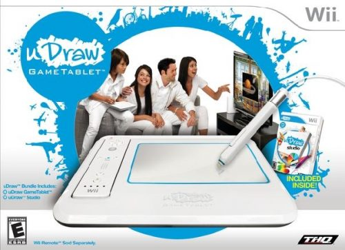 THQ Announces uDraw Game Tablet for Wii!