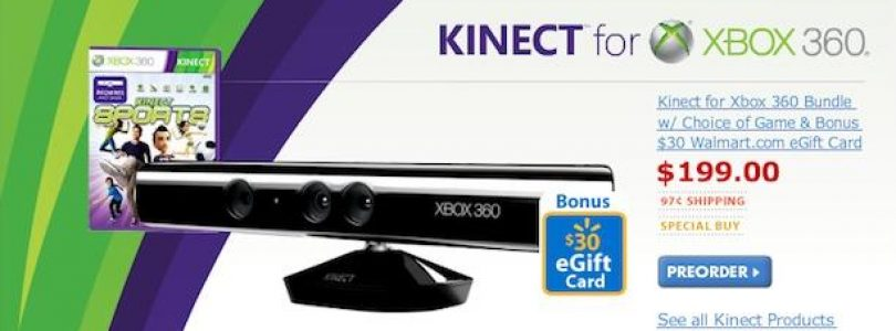 Walmart opens up Kinect pre-order package