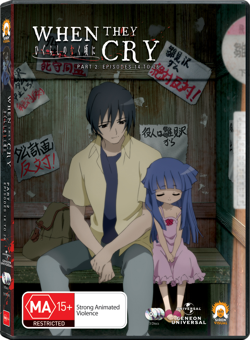 when they cry