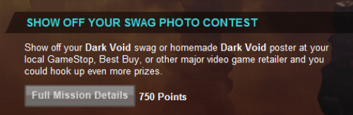 Dark Void SHOW OFF YOUR SWAG PHOTO CONTEST