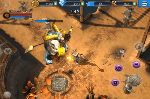 Gameloft Release Dungeon Hunter III Screenshots