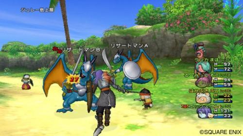 New Dragon Quest X Screenshots