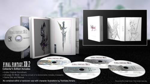 Final Fantasy XIII-2 collector's edition comes with 4 soundtrack CDs