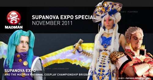 Madman Cosplay Championship 2011 Streamed Live