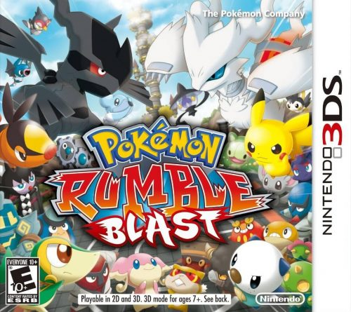 Super Pokemon Rumble released on 3DS