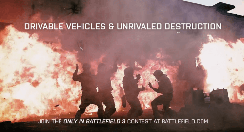 FreddieW Makes Battlefield 3 Commercial