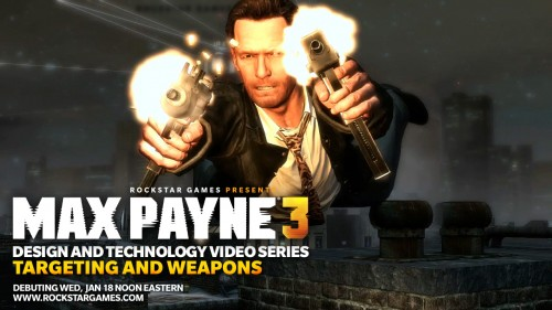 New Max Payne 3 Design and Technology Video Coming Soon