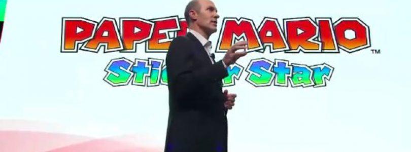E3 2012: Paper Mario – Sticker Star announced by Nintendo
