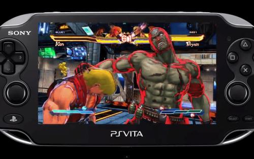 Street Fighter x Tekken Vita E3 Gameplay Footage
