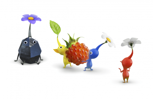 Pikmin 3 screenshots released, looks gorgeous