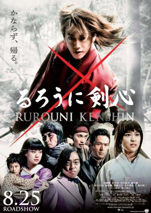 Rurouni Kenshin for International Release