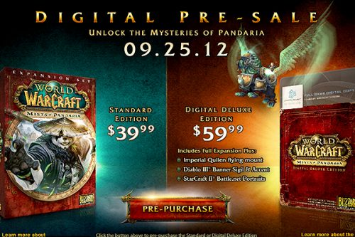 World of Warcraft: Mists of Pandaria Release Date