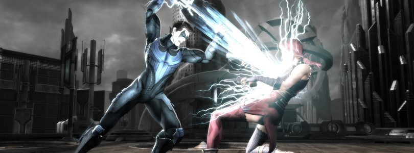 Check out Cyborg and Nightwing in action with these latest Injustice: Gods Among Us screenshots
