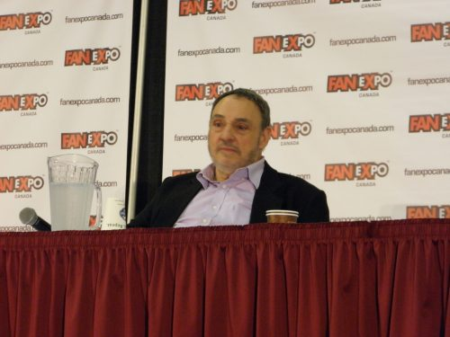 John Rhys-Davies Panel at Fan Expo Canada 2012