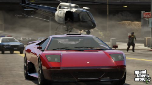 Get down to business with some more Grand Theft Auto V screens