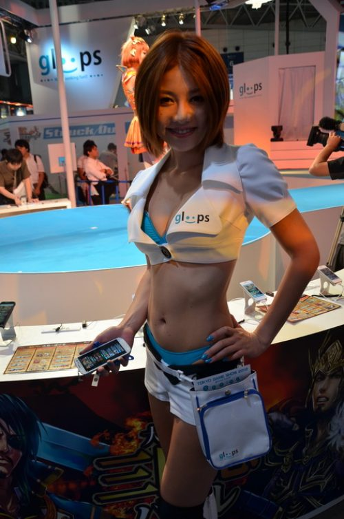 Booth Babes of TGS 2012