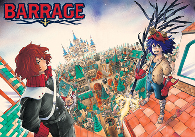 Image result for Barrage manga