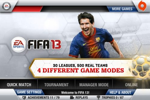 FIFA 13 Comes to iOS