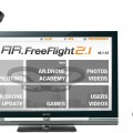 AR.FreeFlight piloting application compatible with Sony's Internet Player with GoogleTV