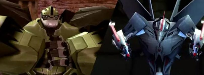 New Wii U Transformers Prime Trailer Flies Out