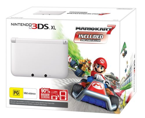 Limited Edition White 3DS XL console coming this Christmas