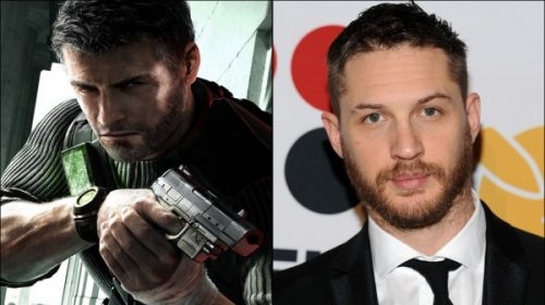 Tom Hardy Playing Sam Fisher In Splinter Cell Film