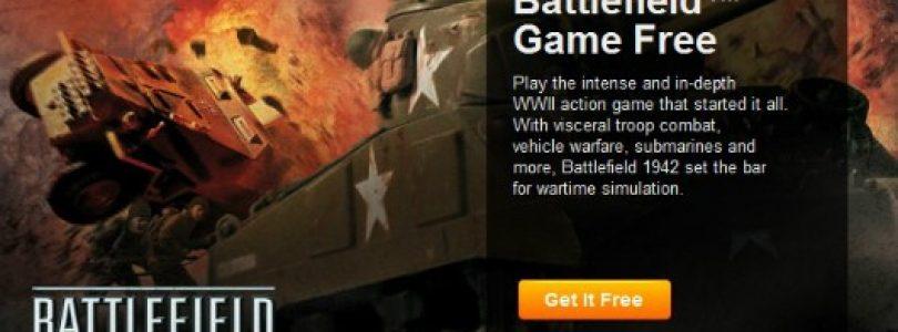 Battlefield 1942 is currently free on Origin