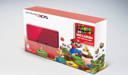 Flame Red 3DS bundle to be sold during Black Friday